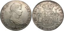 World Coins - PERU: Ferdinand VII 1812 8 Reales