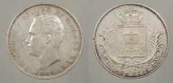 World Coins - PORTUGAL: 1886 500 REIS