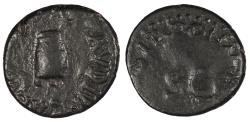 Ancient Coins - Claudius 41-54 A.D. Quadrans Rome Mint VF
