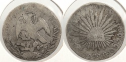 World Coins - MEXICO: 1842-Ga JG 2 Reales