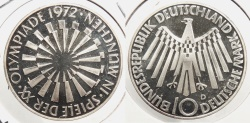 World Coins - GERMANY: Federal Republic 1972 Olympics Proof 10 Mark