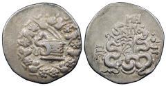 Ancient Coins - Mysia Pergamon 133-67 B.C. Cistophoric Tetradrachm VF