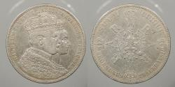 World Coins - GERMAN STATES: Prussia 1861-A Coronation. Thaler (Talar)
