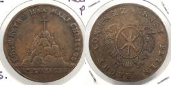 World Coins - GERMAN STATES: Harz 1728 Rechenpfennig Token