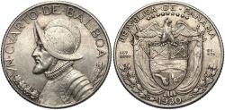 World Coins - PANAMA: 1930 1/4 Balboa