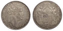 World Coins - DENMARK Christian VIII 1846 Specie Daler (Thaler) EF