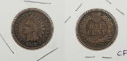 Us Coins - 1868 Indian Head 1 Cent