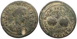 Ancient Coins - Phrygia Hierapolis Philip II, as Caesar 244-247 A.D. AE30 Fine