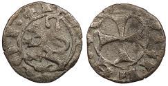World Coins - CRUSADERS Lusignan Kings of Cyprus Janus 1398-1432 Denier VF