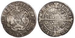 World Coins - ENGLAND Henry VII 1485-1509 Groat 1504-1505 Fine
