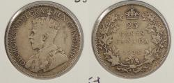 World Coins - CANADA: 1918 25 Cents