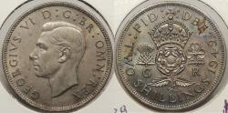 World Coins - GREAT BRITAIN: 1949 Two Shillings (Florin)