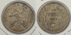 World Coins - CHILE: 1925-So Peso