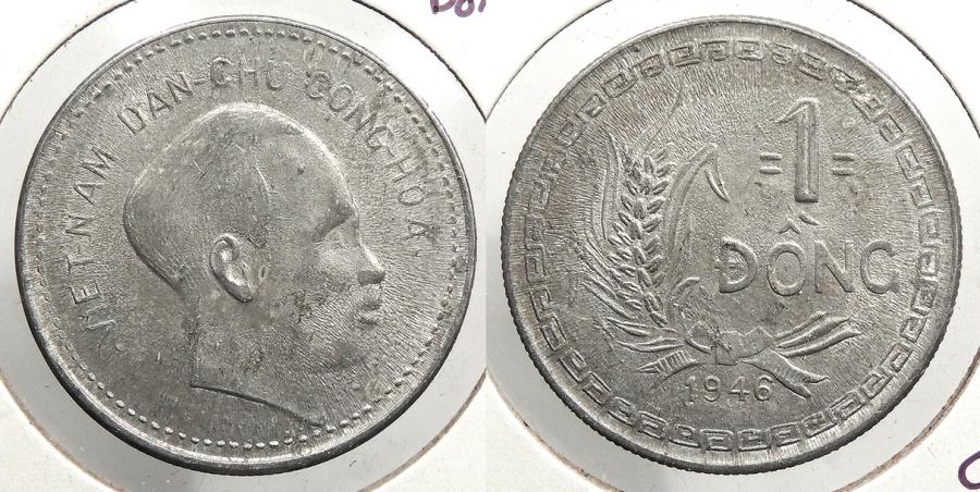 World Coins - VIETNAM: 1946 Dong