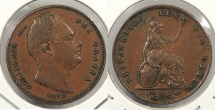 World Coins - GREAT BRITAIN: 1837 Farthing