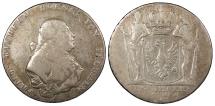 World Coins - GERMAN STATES Prussia Friedrich Wilhelm II 1794-A Thaler (Taler) Fine