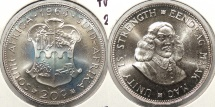 SOUTH AFRICA: 1964 Proof 20 Cents