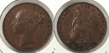 World Coins - GREAT BRITAIN: 1846 Farthing