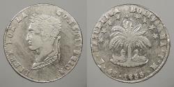 World Coins - BOLIVIA: 1855-Potosi MJ 4 Soles