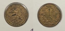World Coins - SURINAME: 1943-P Cent