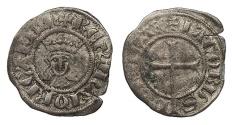 World Coins - SPAIN Mallorca (Majorca) Jaime II 1276-1285 and 1298-1311 Malla VF