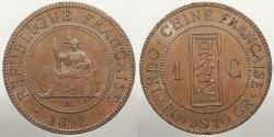 World Coins - FRENCH INDO-CHINA: 1892-A Centime