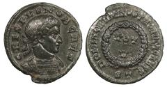 Ancient Coins - Crispus, as Caesar 317-326 A.D. Follis Ticinum Mint EF