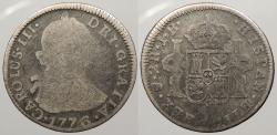 World Coins - BOLIVIA: 1776-POTOSI JR 2 Reales