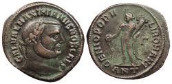 Ancient Coins - Galerius, as Caesar 293-305 A.D. Follis Antioch Mint VF