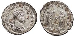 Ancient Coins - Probus 276-282 A.D. Antoninianus Siscia Mint Choice EF