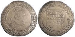 World Coins - ENGLAND James I ND (1623)-lis Shilling Nice VF