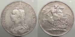 World Coins - GREAT BRITAIN: 1890 Crown