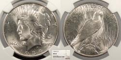 Us Coins - 1934 D Peace 1 Dollar (Silver) NGC MS-62