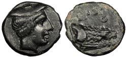 Ancient Coins - Kings of Macedon Aeropos 398/7-395/4 B.C. AE14 Nice VF