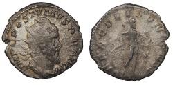 Ancient Coins - Postumus 259-268 A.D. Antoninianus Lugdunum Mint Good Fine
