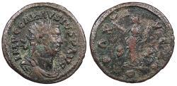 Ancient Coins - Carausius 286-293 A.D. Antoninianus Camulodunum Mint VF Ex. David Bailey collection.