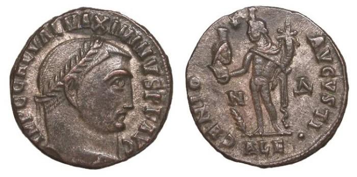 Ancient Coins - Maximinus II 309-313 A.D. Follis Alexandria Mint EF
