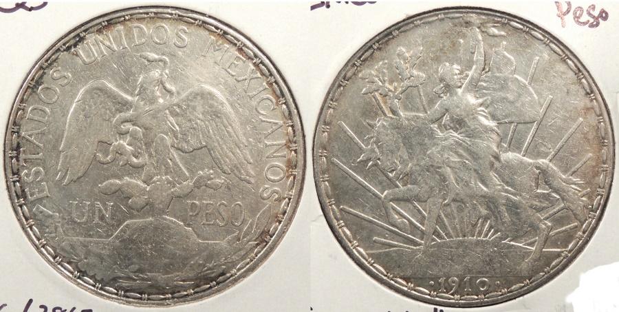 World Coins - MEXICO: 1910 Peso