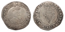World Coins - IRELAND   James I 1603-1626 Shilling  VF