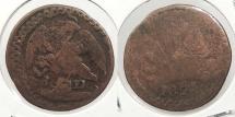 World Coins - MEXICO: Durango 1824-D Octavo (1/8 Real)