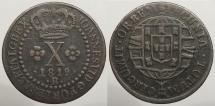 World Coins - BRAZIL: 1819-R 10 Reis