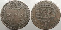 World Coins - BRAZIL: 1821-R 40 Reis