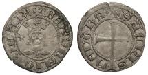 World Coins - SPAIN Mallorca (Majorca) Sancho I 1311-1324 Dobler (2 Diners) Near EF
