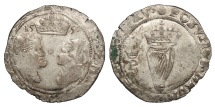 World Coins - IRELAND Philip and Mary 1554-1558 Groat EF