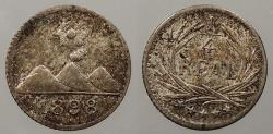 World Coins - GUATEMALA: 1898 1/4 Real