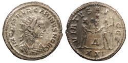 Ancient Coins - Carinus, as Caesar 282-283 A.D. Antoninianus Antioch Mint EF