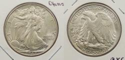 Us Coins - 1942 Walking Liberty 50 Cents (Half Dollar) Doubled die obverse
