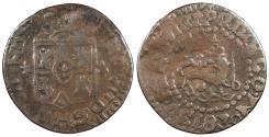 World Coins - PHILIPPINES Ferdinand VII 1830-M Quarto (1/4 Real) VF
