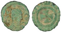 Ancient Coins - Anonymous Early Christian Period, c. 340-540 A.D. AE1 VF