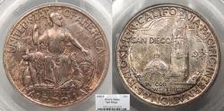 Us Coins - 1935 S San Diego Commemorative 50 Cents (Half Dollar) PCGS MS-64